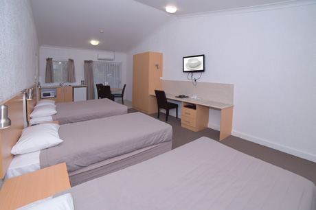 Family Room 2 at Boulevarde Motor Inn - Accommodation Wagga Wagga